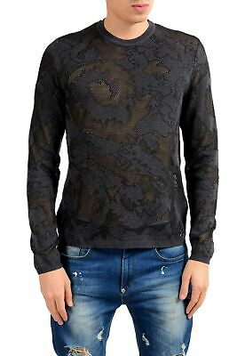 Versace Collection Men's See Through Crewneck Light Sweater Size M L XL