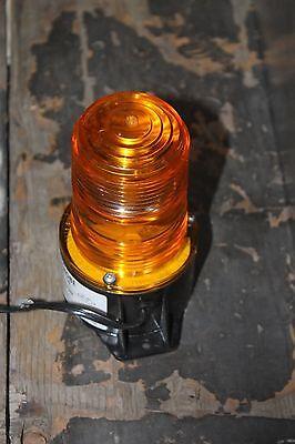 Tomar 480-120 Microstrobe Micro Strobe Yellow Beacon