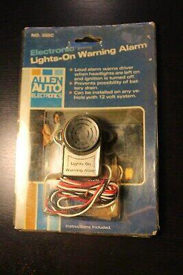 Vintage nos old Auto auto Headlight warning kit Part car truck