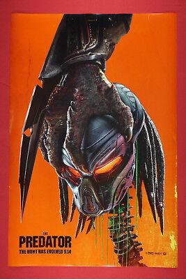Predator 2018 Scary Creature Hunt Has Evolved Movie Poster 24X36   PRED](Predator Scary)
