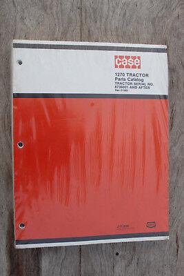 Case 1270 Tractor Original Parts Catalog C1265