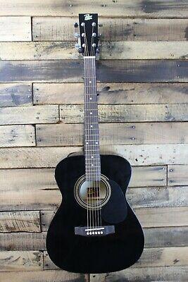 Rogue RA-090 Concert Acoustic-Electric Guitar Black #R6233