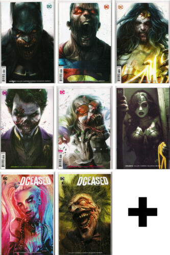 DCEASED #1,2,3,4,5 ~ ASSORTED DC COMICS ~ VARIANTS, EXCLUSIVES, INCENTIVES