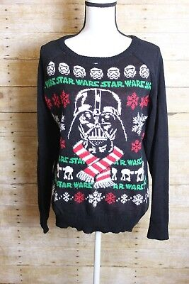 Star Wars Darth Vader Ugly Christmas Sweater Women's Size XL (Ugly Christmas Sweater Star Wars)