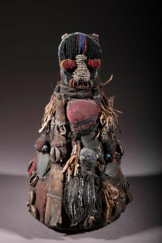 Art African Fetish Yoruba Beaded 1862