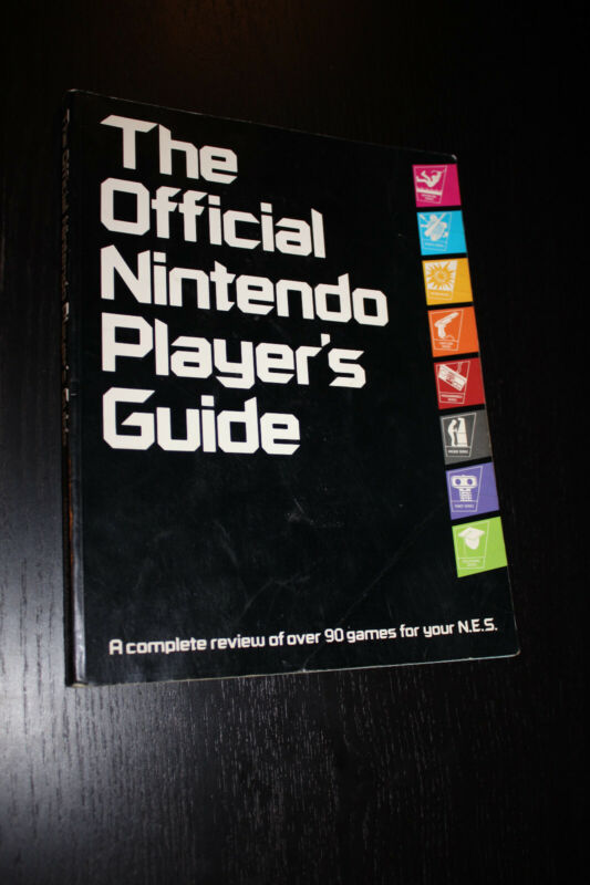 official  nintendo players guide 1987 Nintendo Power strategy guide