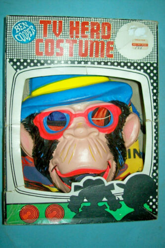 1970 Lancelot Link, Secret Chimp Halloween Costume - Size M