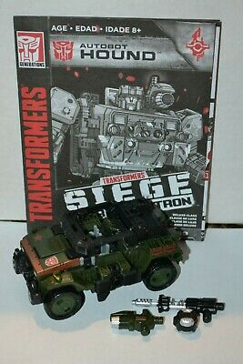 Transformers War For Cybertron Siege Deluxe Class Autobot Hound - Complete