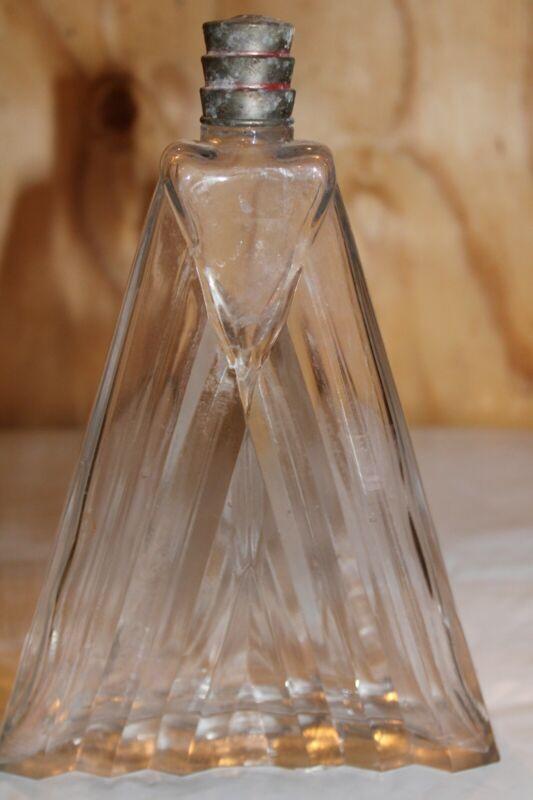 "RARE, Antique Art Deco ""FRENCH "" (DEPOSE ) Perfume Bottle, A-3"