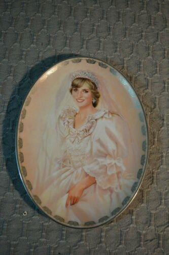 Princess Di Plate FIRST Issue in the Diana Queen of out Hearts