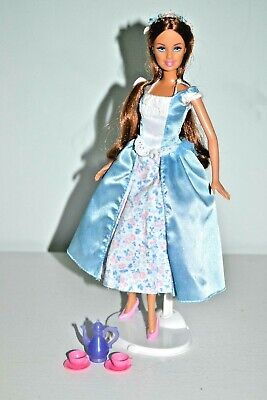 Barbie Princess and the Pauper Erika Doll & Tea Party Playset, Giftwrapped