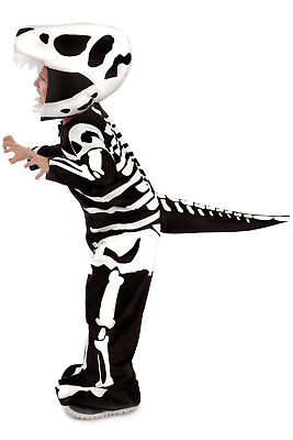 Skeleton Dinosaur Costume T-REX Dragon Fossil Child 3T 4T 5T 3 4 5 6 7 8 9 10 M](Teen Dinosaur Costume)