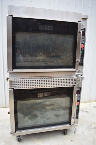 2014 HARDT INFERNO 3500 NATURAL GAS DOUBLE STACK ROTISSERIE OVEN