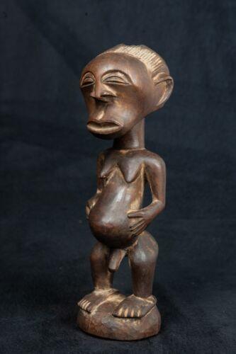Songye, Male Figure, Democratic Republic of Congo, Central African Tribal Art.