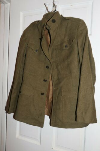 WW1 Wool Coat 1910-1924 US  Infantry Enlisted Collar Disk