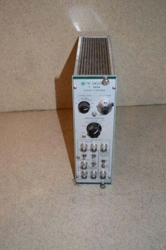 TENNELEC MODEL TC205A  TC 205A LINEAR AMPLIFIER PLUG IN (TP860)
