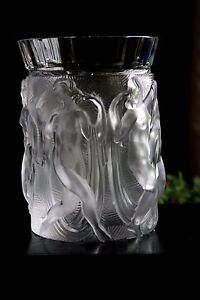 LARGE-BOHEMIAN-ART-DECO-GLASS-VASE-DESIGN-H-HOFFMANN-C-SCHLEVOGT