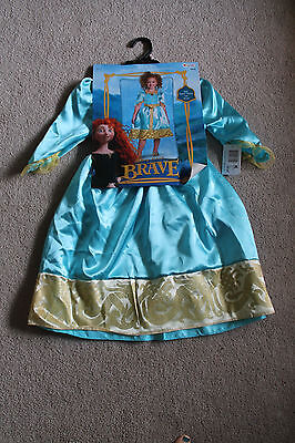 Girls Size 4-6 Disney's Brave Merida Halloween Costume