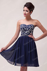 Images of Navy Blue Homecoming Dress - Reikian