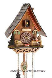 cuckoo clock black forest quartz german music house style new Pinocchio
