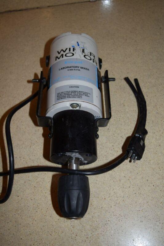 COLE PARMER INSTRUMENT CO STIR PAK LABORATORY MIXER 9-900 RPM