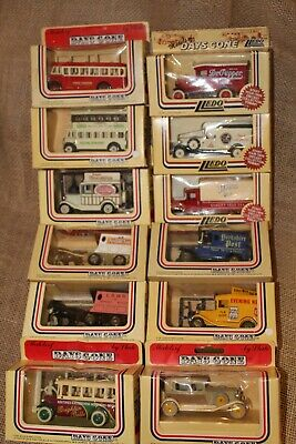 Lot 12 1980s  LLEDO London England Models DAYS GONE BY Die Cast NEW NIP