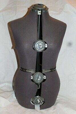 German Vintage Dial Adjustable Dress Form Mannequin Diana Form