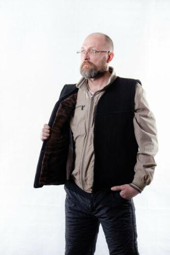 Sheepskin vest