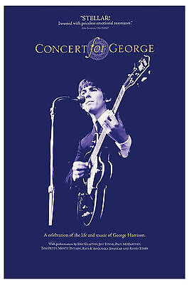 Rock: The Beatles George Harrison * Concert 4 George * Poster Promotional
