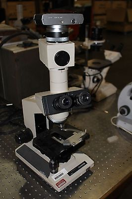 Olympus Bh-2 Microscope Bh-2 With 10x20l Eye Pieces Camera