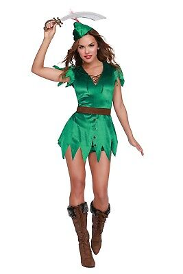 Dreamgirl Mischief in Neverland -  Sexy Peter Pan Adult Costume (Peter Pan Sexy Kostüm)