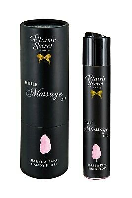 Aceite masaje erótico comestible Algodón de Azúcar 59ml Plaisir Secret