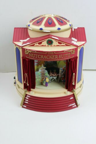 AS IS Mr. Christmas Nutcracker Suiter Animated Musical box ballet 1999