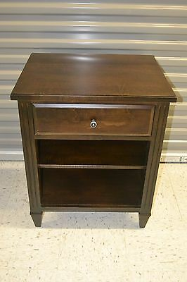"Ethan Allen ""Jason"" Night Table Nightstand Custom Classics Maple #155726 #290"