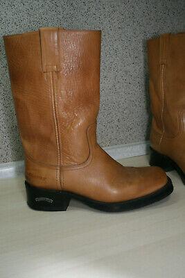 7167 Sendra Cowboystiefel Hochschaft Mad Dog Tang Braun Rahmengenähte Schuhe