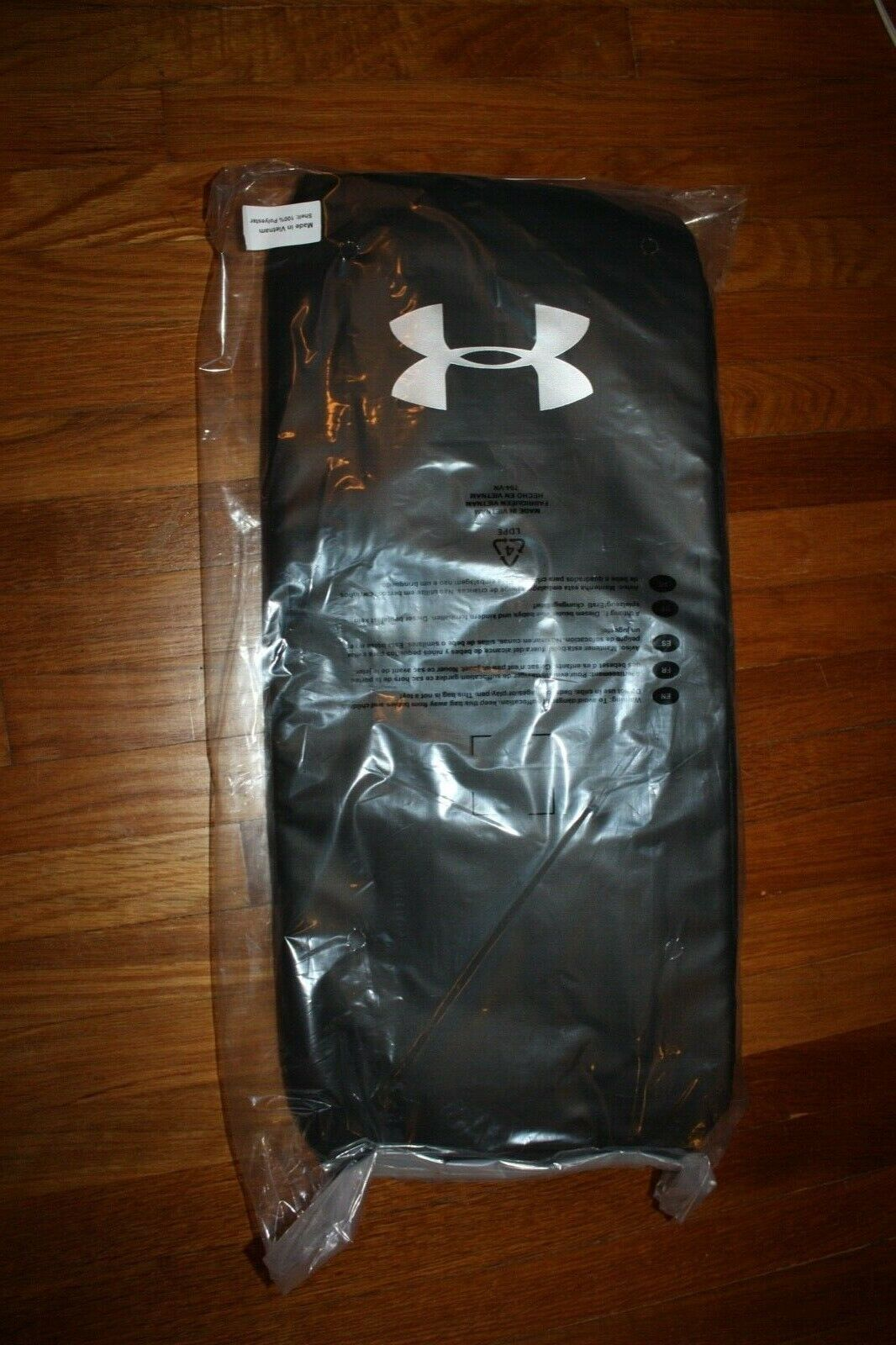 Under Armour Contain 4.0 Backpack Duffle, Black /Silver, One