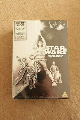 STAR WARS original trilogy box set DVD VERY RARE Episode 4 5 6 IV V VI