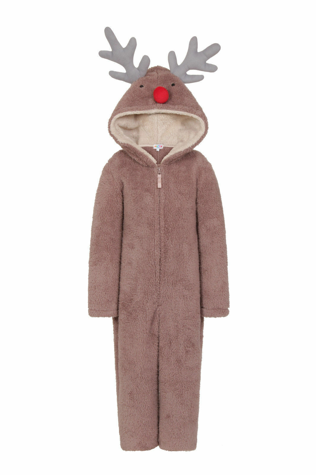 b7c68e27c698 Christmas 1Onesie Girls Boys Novelty Fleece Santa Fancy Dress ...