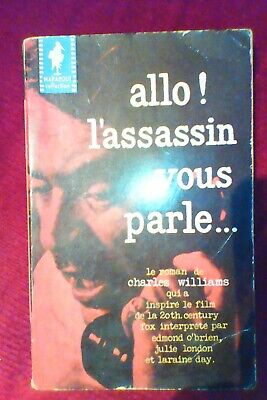 "Charles Williams ""allo l'assassin vous parle"" marabout 1958"