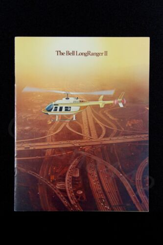 BELL Vintage Long Ranger II Helicopter Brochure Original 1978 Textron 14 Pages