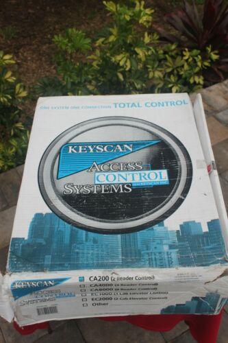 KeyScan CA 4000 & CA 200 Access Control Units