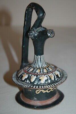 QUALITY ANCIENT GREEK GNATHIAN POTTERY EPICHYSIS 4th Century BC WINE JUG