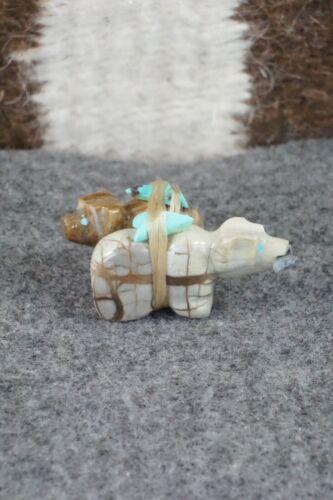Bear Zuni Fetish Carving - Jeff Eriacho