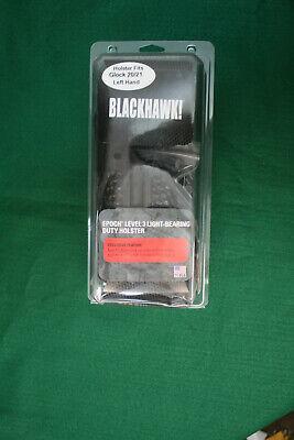 Blackhawk Glock 2021 Left Hand Epoch Level 3 Light Bearing Duty Holster