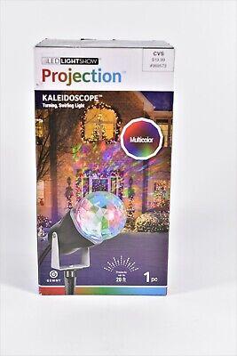 LED Lightshow Christmas Decor Projection Kaleidoscope Multicolor Swirling Lights