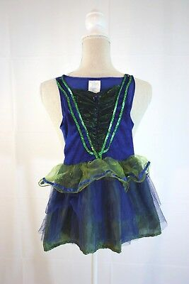 Unbranded Girls Costume Size S Green Blue Fairy Skirted - A Fairy Costume