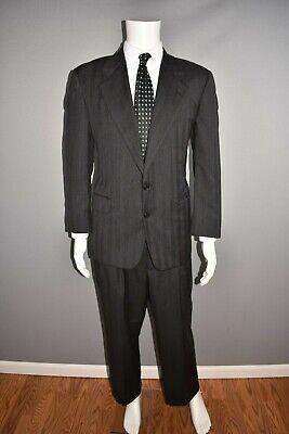HICKEY FREEMAN $1385 Loro Piana Super 120's Wool 2 Piece Suit Men's 40 Short