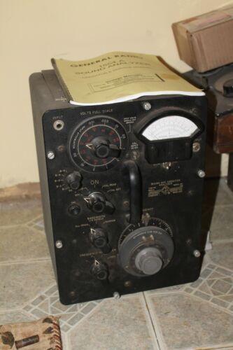 General radio sound analyzer 1554a