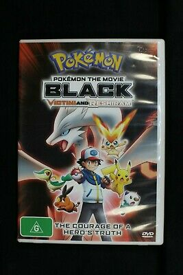 Pokemon The Movie - Black - Victini And Reshiram - Pre Owned R4 (D153)