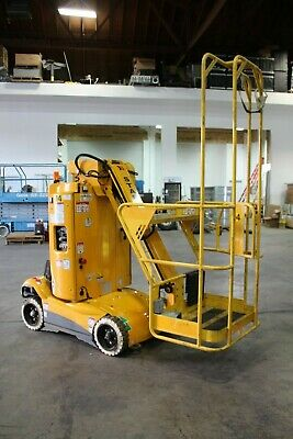 Haulotte Star 22j Boom Lift 28ft. Vertical Mast Lift 151 Hours
